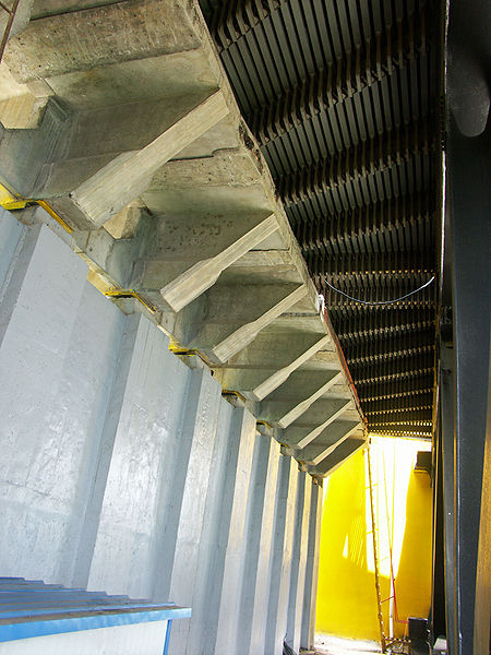 Деформационный шов западного пилона Sidu River Bridge
